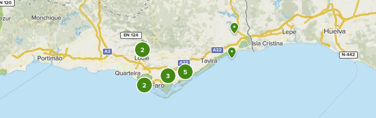 Parque Natural Da Ria Formosa Algarve Portugal Mejores Rutas De Paseo Alltrails
