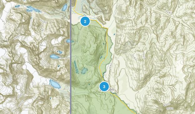 Lago Argentino, Santa Cruz Hiking Map