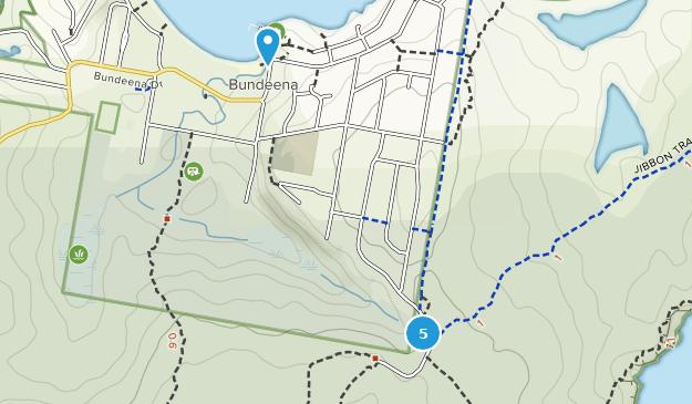 Bundeena, New South Wales Hiking Map
