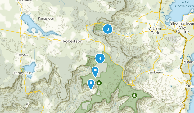 Robertson, New South Wales Hiking Map