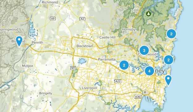 Sydney, New South Wales Kid Friendly Map