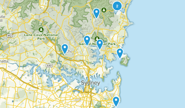 Sydney, New South Wales Wildlife Map