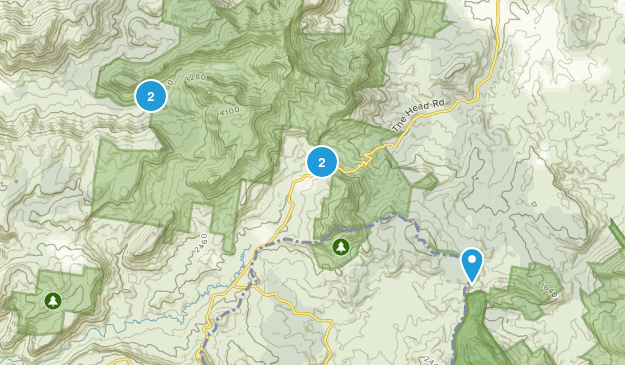 Killarney, Queensland Hiking Map