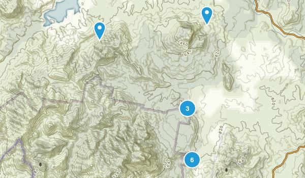 Palen Creek, Queensland Hiking Map