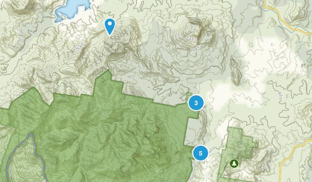 Palen Creek, Queensland Walking Map
