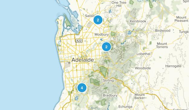 Adelaide, South Australia Views Map