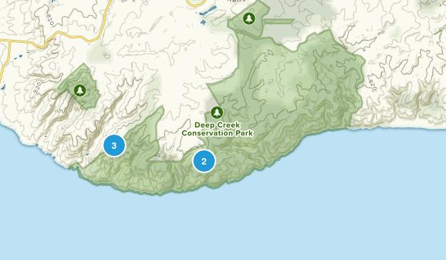 Delamere, South Australia Walking Map