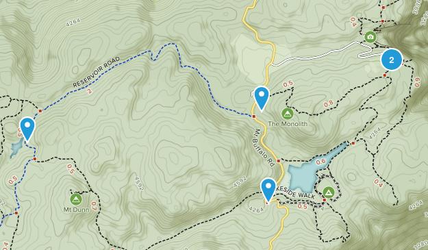 Bright, Victoria Hiking Map