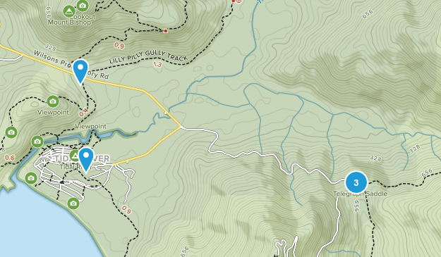 Darby River, Victoria Wildlife Map