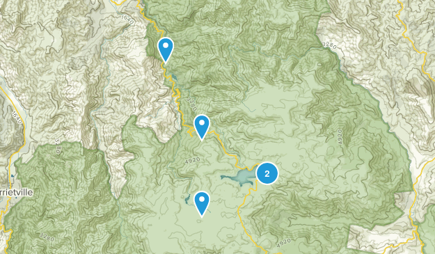 Falls Creek, Victoria Hiking Map