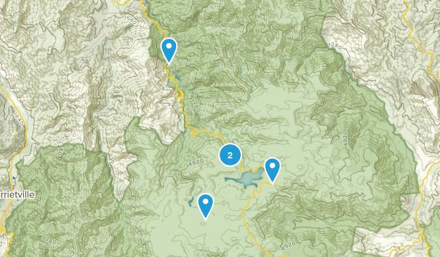 Falls Creek, Victoria Nature Trips Map