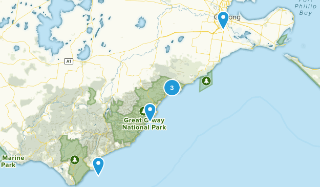 Geelong, Victoria Birding Map