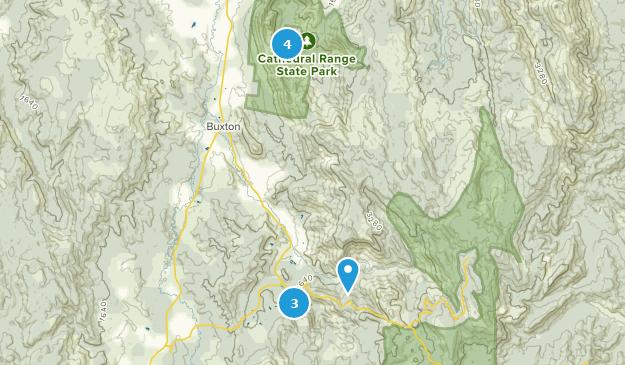 Marysville, Victoria Hiking Map
