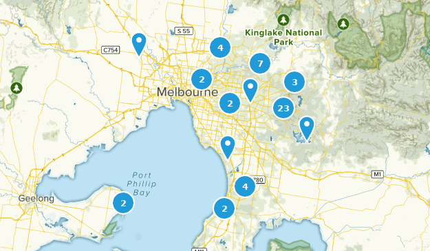 Melbourne Victoria Australia Map.Best Forest Trails Near Melbourne Victoria Australia Alltrails
