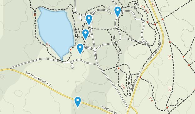 Two Rocks, Western Australia Walking Map