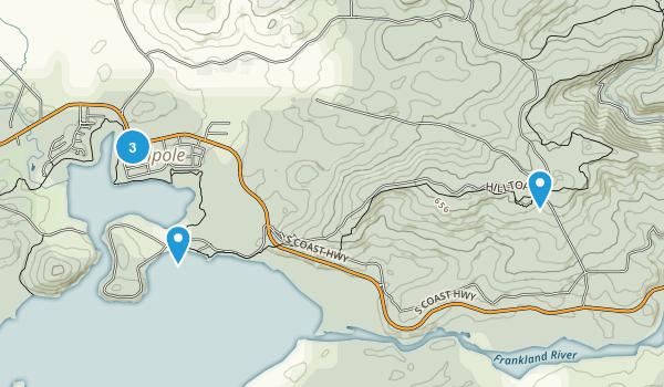 Walpole, Western Australia Hiking Map