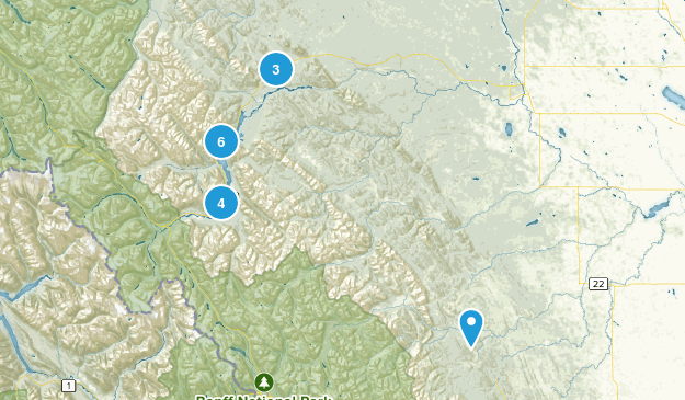 Clearwater County, Alberta Birding Map