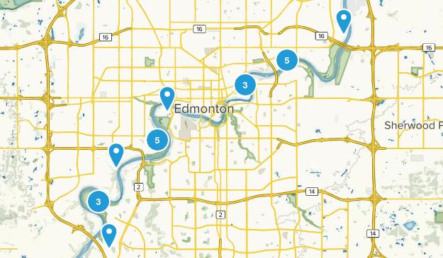 Edmonton, Alberta Dog Friendly Map