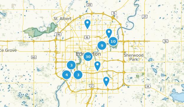Wege Mit Der Besten Aussicht In Der Nahe Von Edmonton