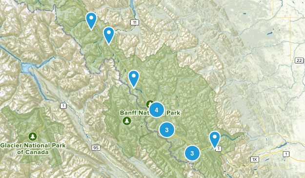 Improvement District No. 9, Alberta Wild Flowers Map
