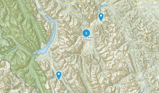 Kananaskis Village, Alberta Nature Trips Map