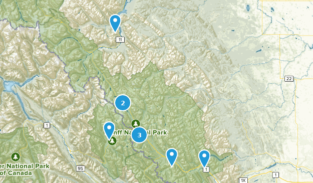 Map Of Canada Lake Louise.Best Fishing Trails Near Lake Louise Alberta Canada Alltrails