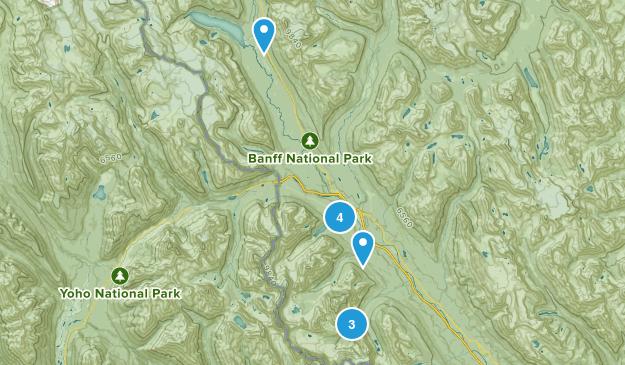 Lake Louise, Alberta Kid Friendly Map