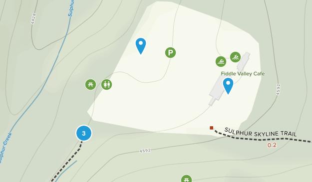 Miette Hotsprings, Alberta Views Map