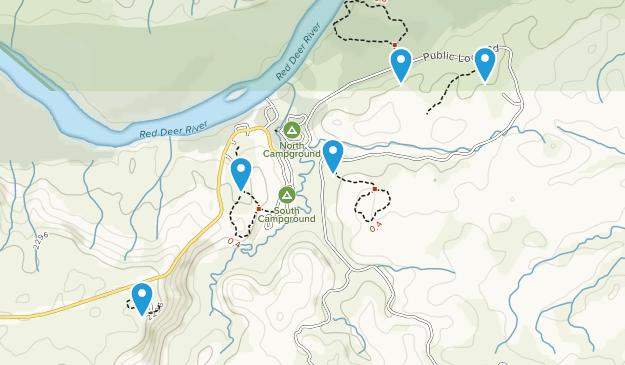 Princess, Alberta Nature Trips Map