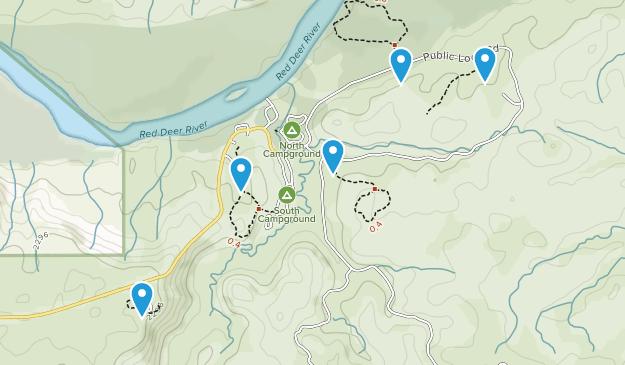 Princess, Alberta Walking Map