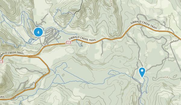 Stoney 142, 143, 144, Alberta Walking Map