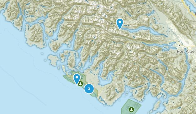 Alberni-Clayoquot, British Columbia Dogs On Leash Map