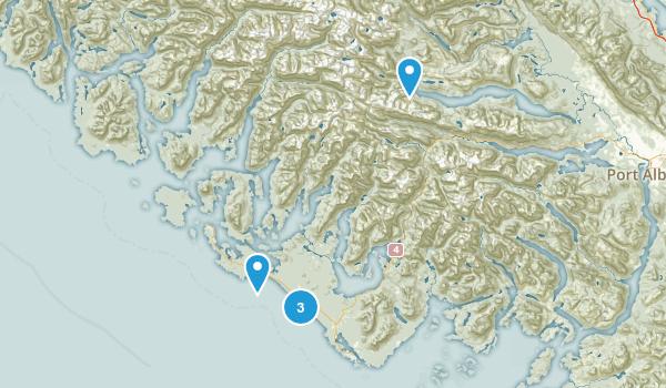Alberni-Clayoquot, British Columbia Hiking Map
