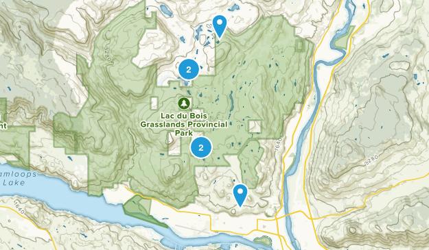 Brocklehurst, British Columbia Birding Map