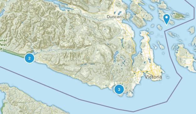 Capital, British Columbia Birding Map