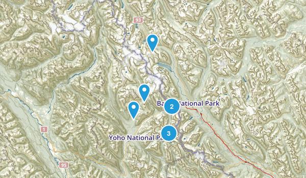 Columbia-Shuswap A, British Columbia Birding Map