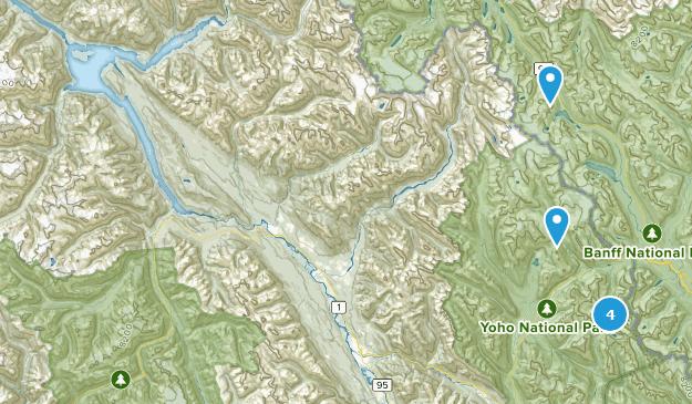 Columbia-Shuswap A, British Columbia Camping Map