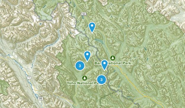 Columbia-Shuswap A, British Columbia Lake Map