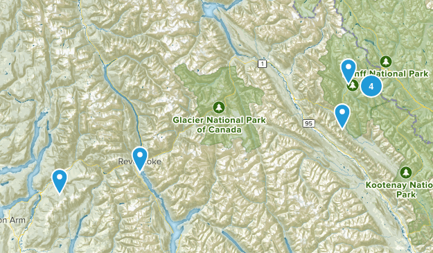 Columbia-Shuswap, British Columbia Birding Map