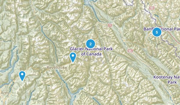 Columbia-Shuswap, British Columbia Kid Friendly Map