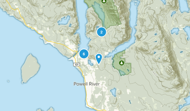 Cranberry, British Columbia Birding Map
