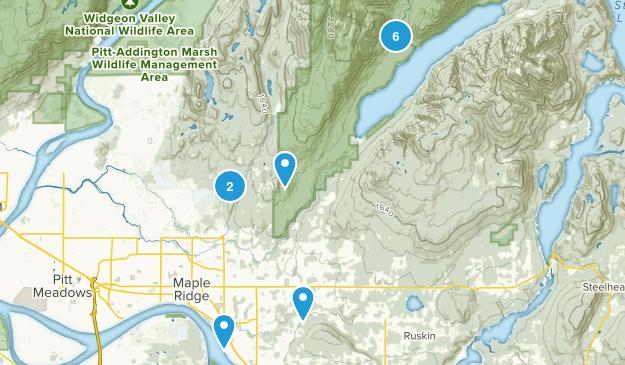 Maple Ridge, British Columbia Kid Friendly Map