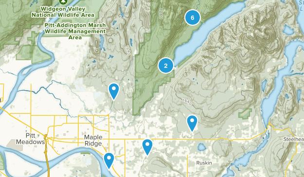 Maple Ridge, British Columbia Wildlife Map