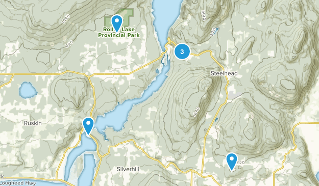 Mission, British Columbia Birding Map