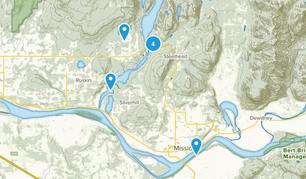 Mission, British Columbia Kid Friendly Map