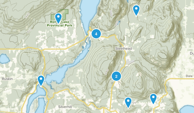 Mission, British Columbia Nature Trips Map