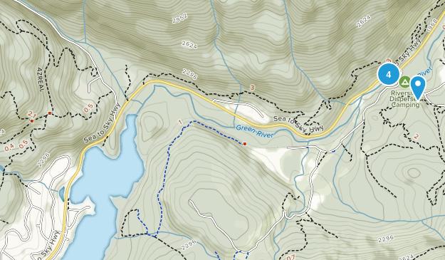 Nesters, British Columbia Nature Trips Map