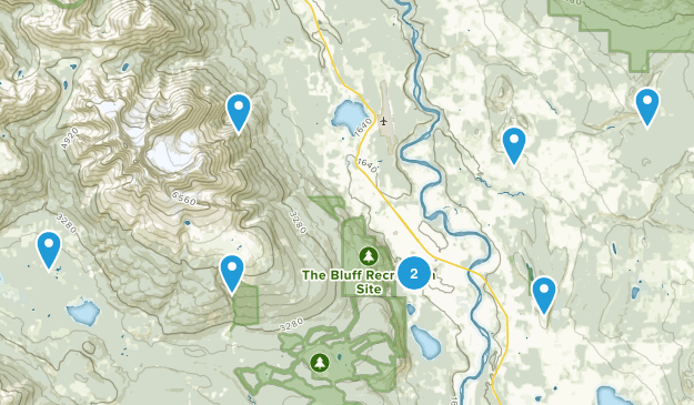 Smithers, British Columbia Birding Map