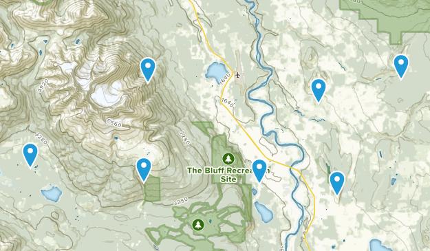 Smithers, British Columbia Hiking Map