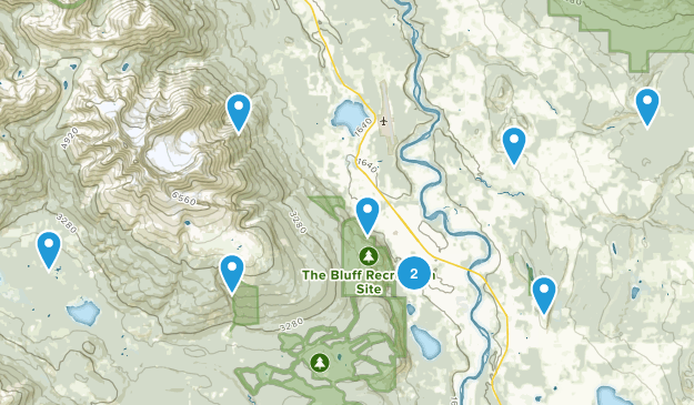 Smithers, British Columbia Nature Trips Map